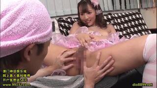 【三上悠亜】巨乳の美少女アイドル、三上悠亜の着エロフェラがエロい。【おっぱい】