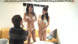 淫乱な美乳でムッチリで巨乳の若妻人妻の、3Pセックス寝取られエロ動画!【電マ動画】