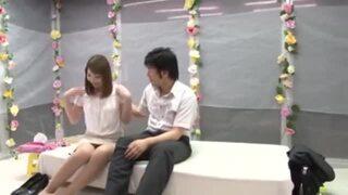 【エロ動画】スレンダーなOL素人の、SMモニタリングセックスプレイが、MM号にて…。