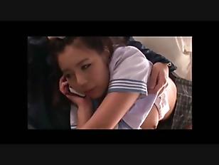 【エロ動画】巨乳で制服姿の女子校生の、パンチラ中出しレイププレイエロ動画。