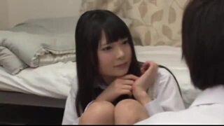 【エロ動画】制服姿の女子校生の、寝取られフェラ種付けプレイエロ動画。