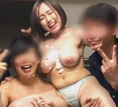 【エロ動画】スケベでエロい巨乳の美少女の、乱交ハメ撮りセックスプレイエロ動画!