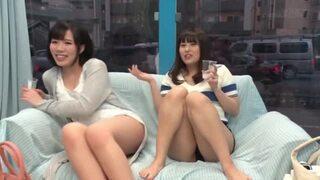 マジックミラー号にて、泥酔ほろ酔いな巨乳の素人女子大生の、3P乱交セックスエロ動画。【素人、女子大生動画】