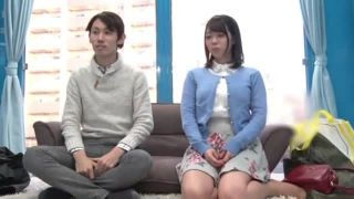 【エロ動画】ボインのお姉さんの、フェラプレイが、マジックミラー号にて…!!いいおっぱいですね!