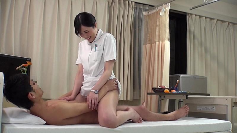 【看護師シックスナイン】パンスト姿の看護師ナースの、フェラ手コキ素股プレイがエロい!!