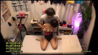 スレンダー淫乱なレオタード姿の美少女の、絶頂フェラ着エロエロ動画。【マッサージ動画】
