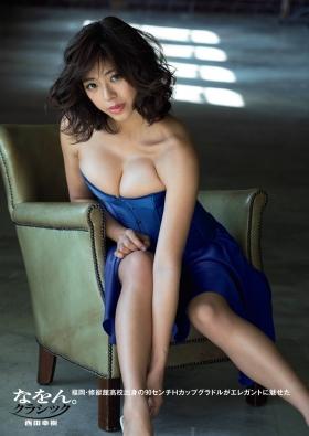 Minami Wachi swimsuit bikini gravure 90cm Hcup grader elegantly fascinated003