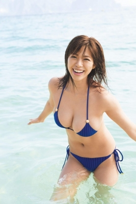 Minami Wachi swimsuit bikini gravure 90cm Hcup grader elegantly fascinated005