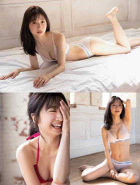 Kanako Tahara, daughter of Toshihiko Tahara tries swimsuit gravure for the first time in 10 years003