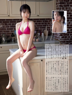 Kanako Tahara, daughter of Toshihiko Tahara tries swimsuit gravure for the first time in 10 years005
