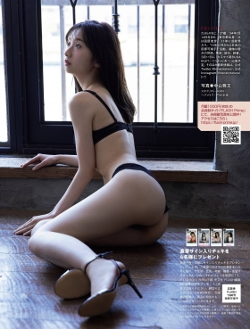 Kanako Tahara, daughter of Toshihiko Tahara tries swimsuit gravure for the first time in 10 years008