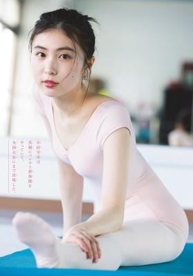 Morisato Nakamura Black Swimsuit Bikini Young actress with a great sense of transparency 2021004