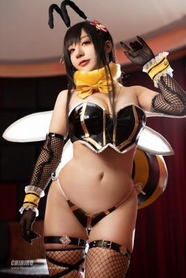 Swimsuit Bikini Gravure Queen Bee Tifa Lockhart Cosplay003