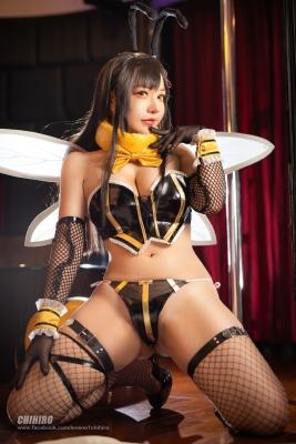 Swimsuit Bikini Gravure Queen Bee Tifa Lockhart Cosplay011