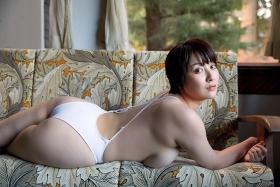 Konno Shiori swimsuit bikini gravure whipped H cup011