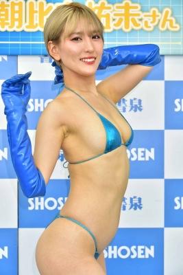 Yumi Asahina Swimsuit Bikini Gravure Android HINA responds to your naughty requests 2021042