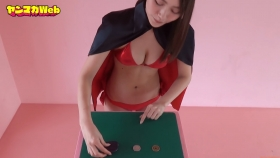 Yuki Mitera Magic in Red Swimsuit Part 2 2021112