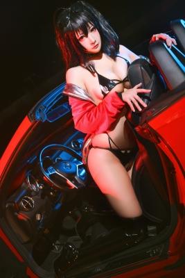 Black Swimsuit Bikini Oho Azur Lane008
