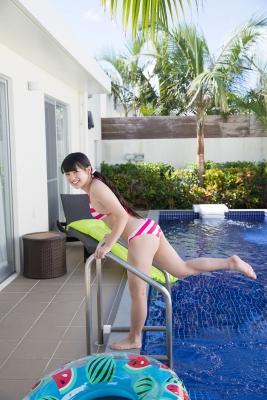 Hinako Tamaki swimsuit bikini gravure pool floatation ring40009