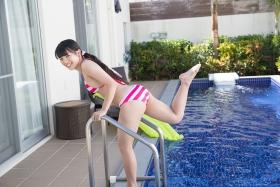 Hinako Tamaki swimsuit bikini gravure pool floatation ring40011