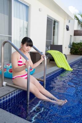Hinako Tamaki swimsuit bikini gravure pool floatation ring40014