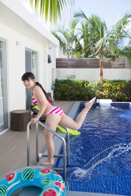Hinako Tamaki swimsuit bikini gravure pool floatation ring40010