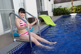 Hinako Tamaki swimsuit bikini gravure pool floatation ring40015