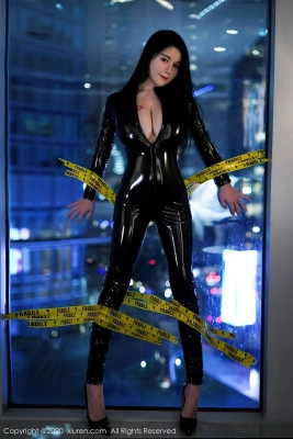 Revealing Costume Rider Suit Woman Cosplay006