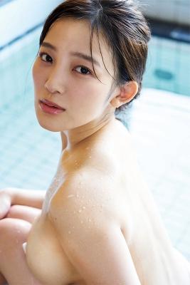 Jun Amagi swimsuit bikini gravure I-cup divine breast unleashed 2021008
