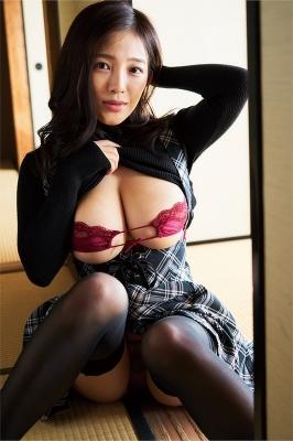 Jun Amagi swimsuit bikini gravure I-cup divine breast unleashed 2021010