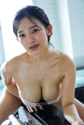 Jun Amagi swimsuit bikini gravure I-cup divine breast unleashed 2021011