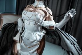 Cosplay Swimsuit Style Costume Albedo Overlord031