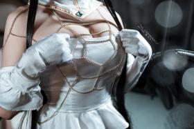 Cosplay Swimsuit Style Costume Albedo Overlord038