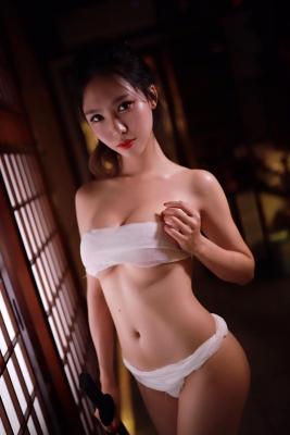 Underwear Image Cosplay Sarashi Wooden Sword Wood Blade002