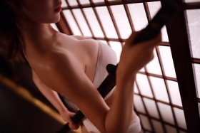 Underwear Image Cosplay Sarashi Wooden Sword Wood Blade021