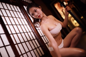 Underwear Image Cosplay Sarashi Wooden Sword Wood Blade031