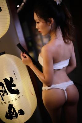 Underwear Image Cosplay Sarashi Wooden Sword Wood Blade037