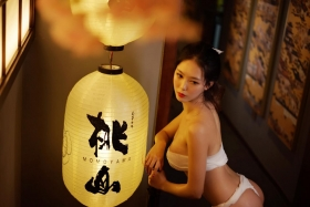 Underwear Image Cosplay Sarashi Wooden Sword Wood Blade039