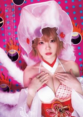 Enako swimsuit bikini gravure sensual yokai change cosplay 2021007