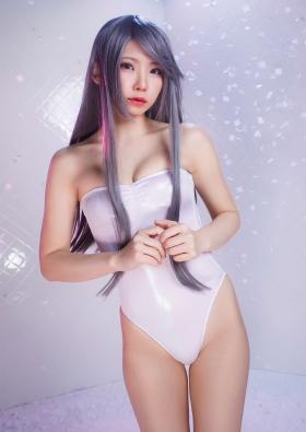 Enako swimsuit bikini gravure sensual yokai change cosplay 2021015