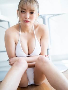 Usatani Paisen Orthodox White Swimsuit Glamorous SEXY Body Vol1 2021012