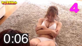 Usatani paisen white swimsuit bikini 30 second situps challenge 2021028