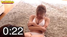 Usatani paisen white swimsuit bikini 30 second situps challenge 2021036