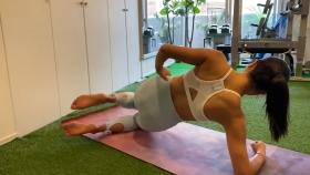 Hikaru Nishimoto Sportswear Hard Training at Personal Gym 2021044