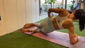 Hikaru Nishimoto Sportswear Hard Training at Personal Gym 2021045