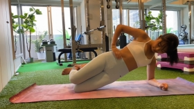 Hikaru Nishimoto Sportswear Hard Training at Personal Gym 2021052