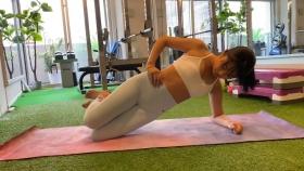 Hikaru Nishimoto Sportswear Hard Training at Personal Gym 2021054