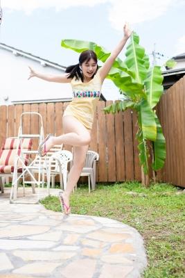Sakurako Okubo Black swimsuit bikini White skin and firm body Vol2 2020003