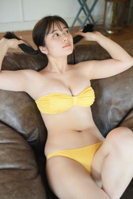 Sakurako Okubo Black swimsuit bikini White skin and firm body Vol2 2020018
