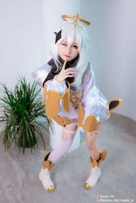 Vegetable Bikini Paimon Genshin Impact Cosplay002